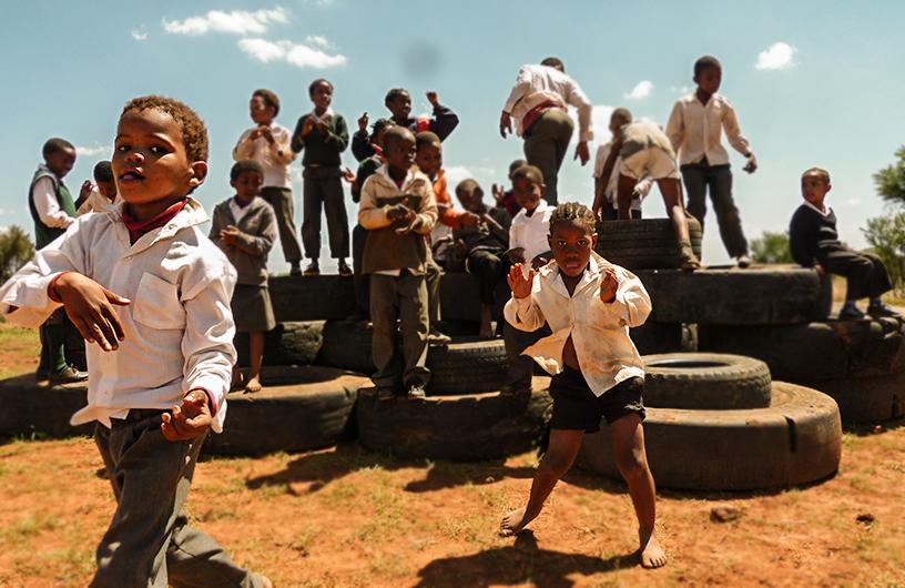 Schule in Südafrika